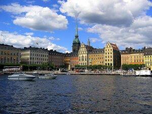 Небо над Стокгольмом.