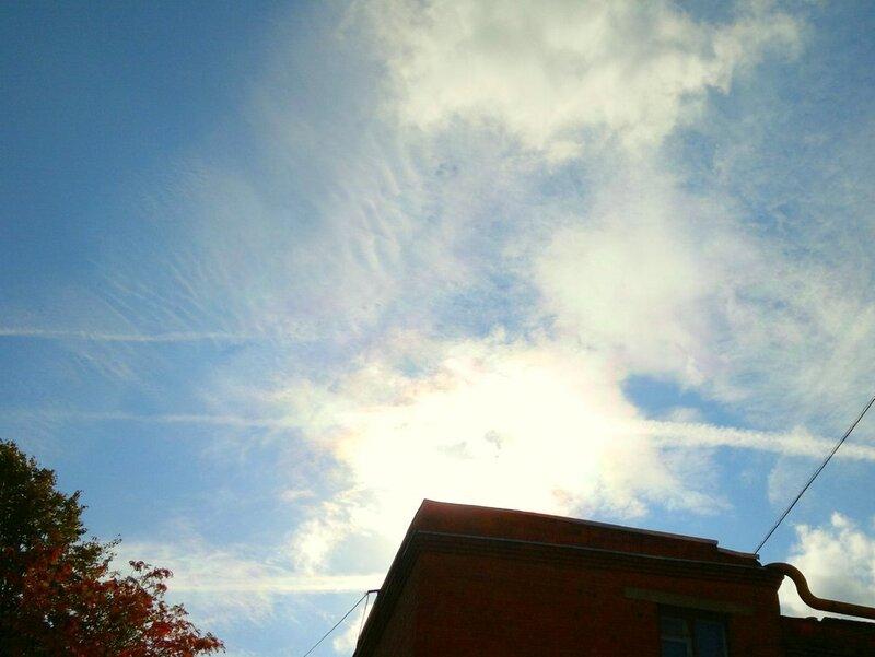 Радужные облака 2011.09.28  12:45