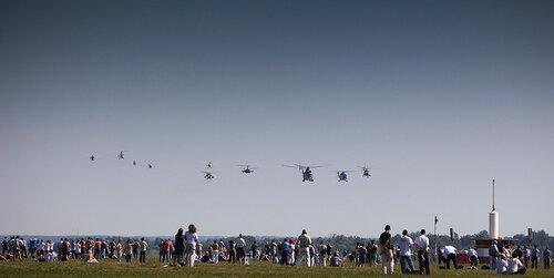 MAKS'2011: пролет вертолетов