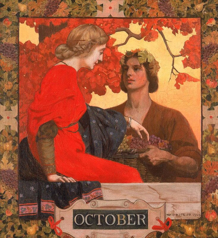 October. William Clarke Rice, 1903