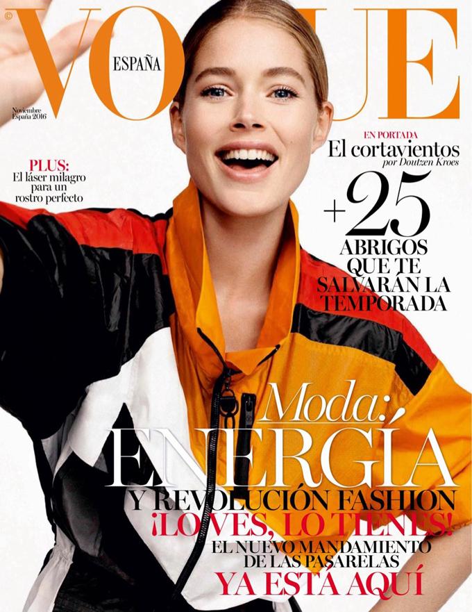 Даутцен Крус на обложке Vogue