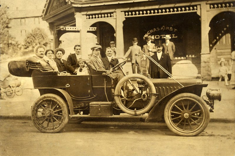 1903 Cadillac Model A Tonneau