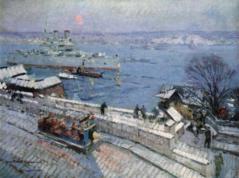 Korovin_Sevastopol_zimoi