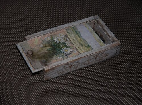 Коробочка из дедушкиного сарая