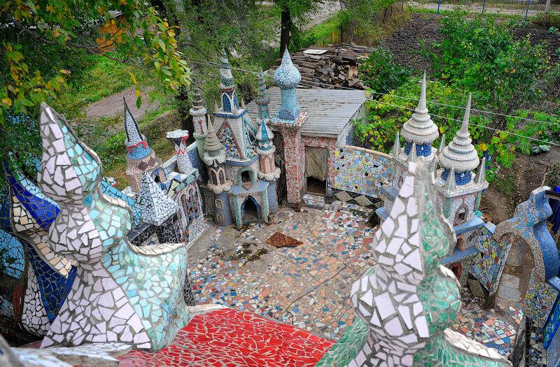 Замок в сад своими руками 85
