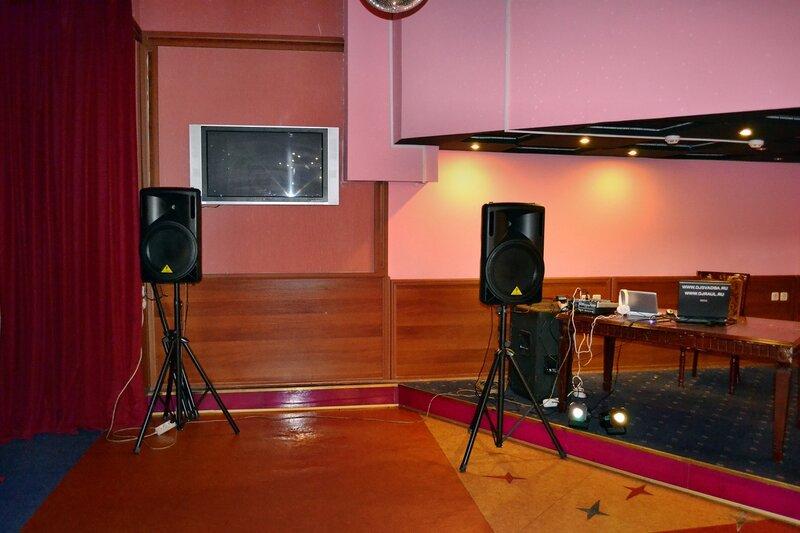 Моя музыкальная аппаратура на свадьбы
