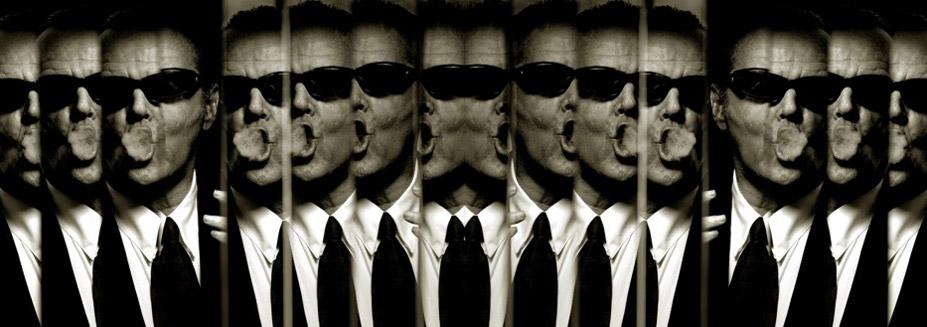 работа фотографа Альберта Уотсона / Jack Nicholson, New York, 1998 - photo by Albert Watson