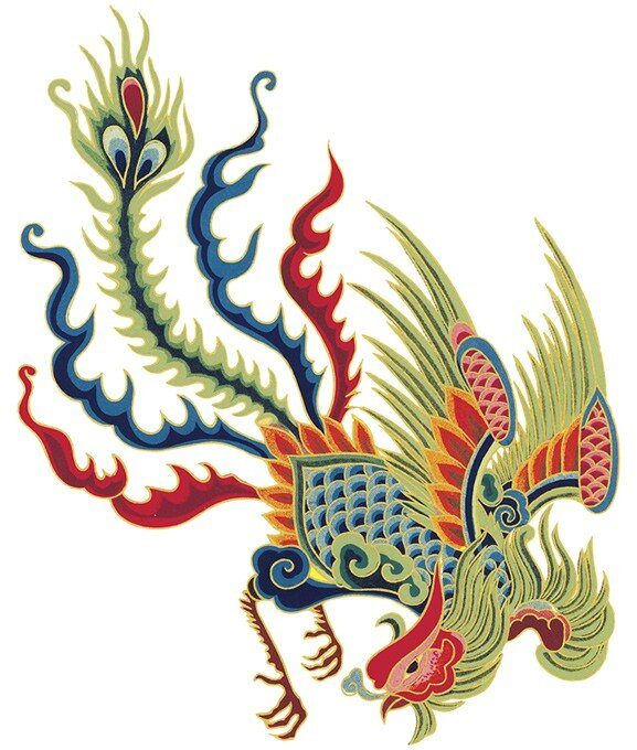 Chinese Rooster Art