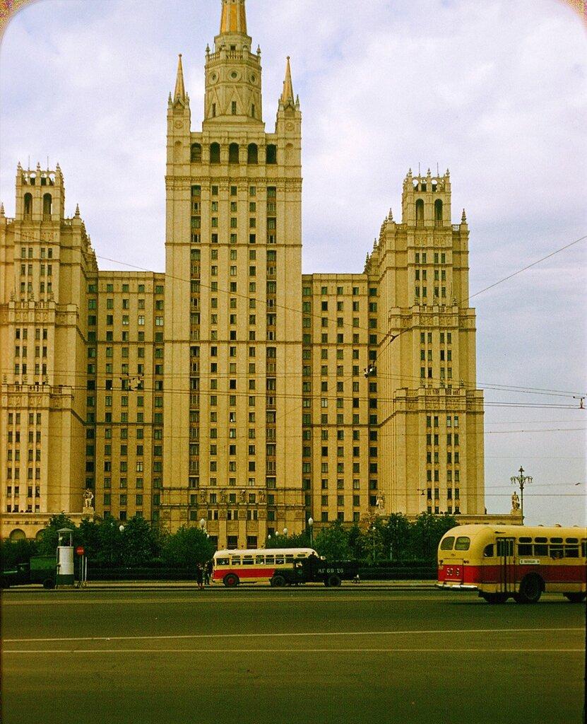 Дом Авиаторов на Баррикадной. Москва, 1956