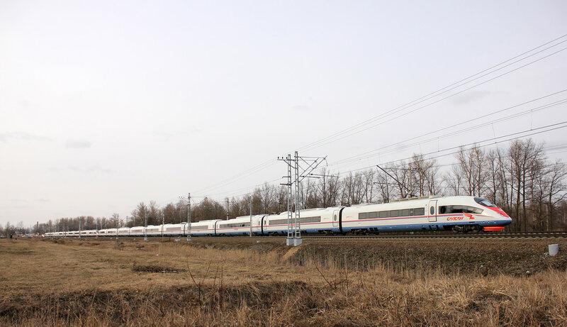 ЭВС1-13 и 14 на станции Колпино
