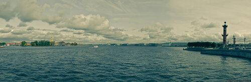 Автор: Петкун Евгений, блог Евгения Владимировича, фото, фотография: Панорама Невы