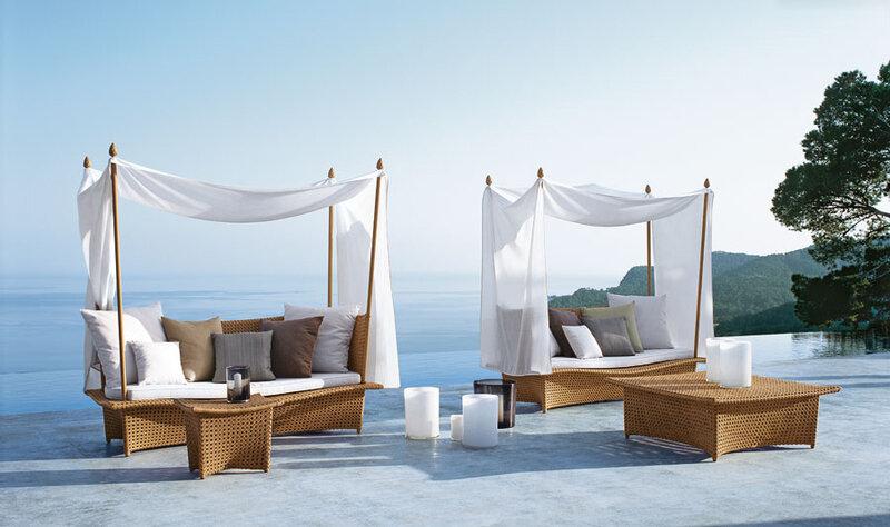 DEDON - современная плетеная мебель для открытых пространств