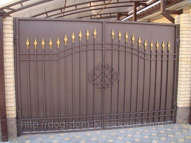 Цена Ворота распашные - Купить ворота - ИП Сапожникова - Торговая площадка.
