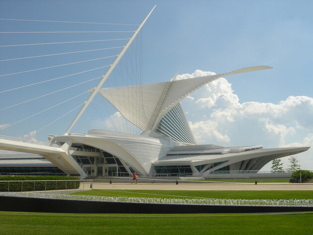 Музей искусств Милуоки (Milwaukee Art Museum). США