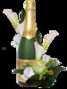 Шампанское,бокалы в пнг