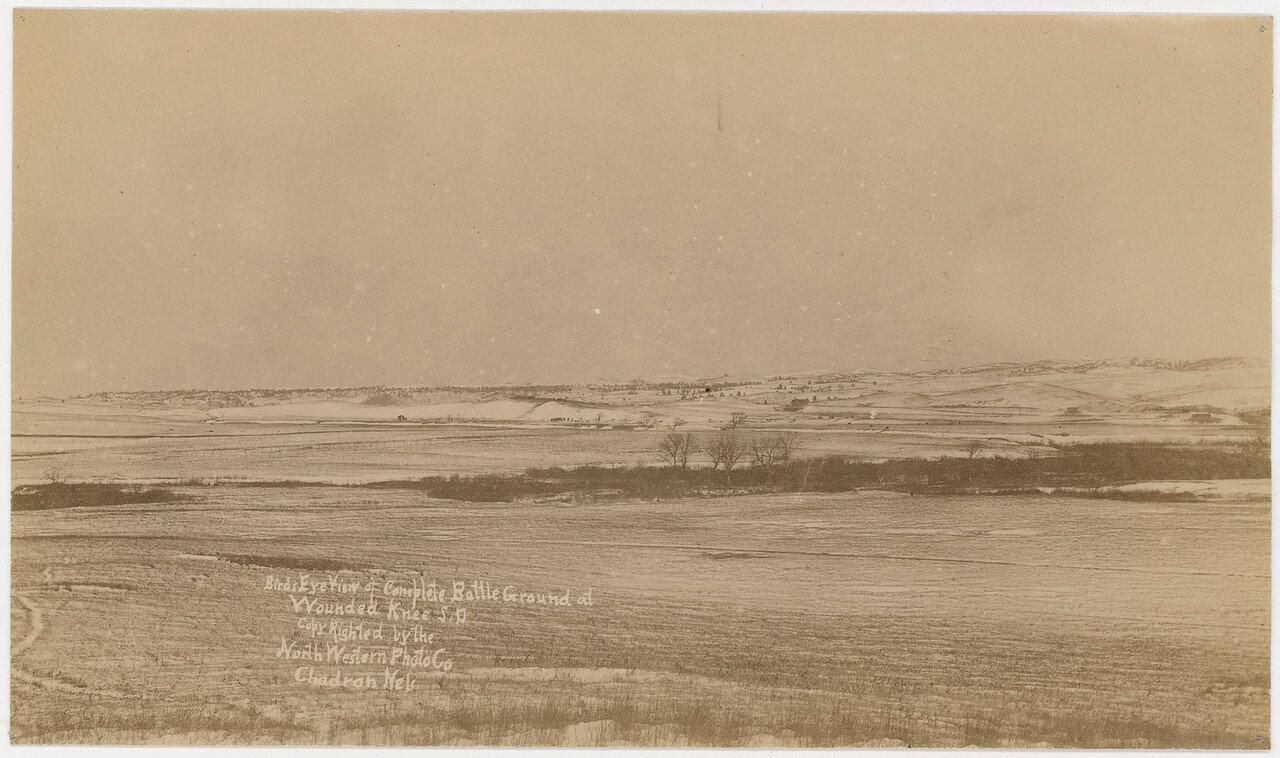 1891. Место событий с высоты птичьего полета. Январь
