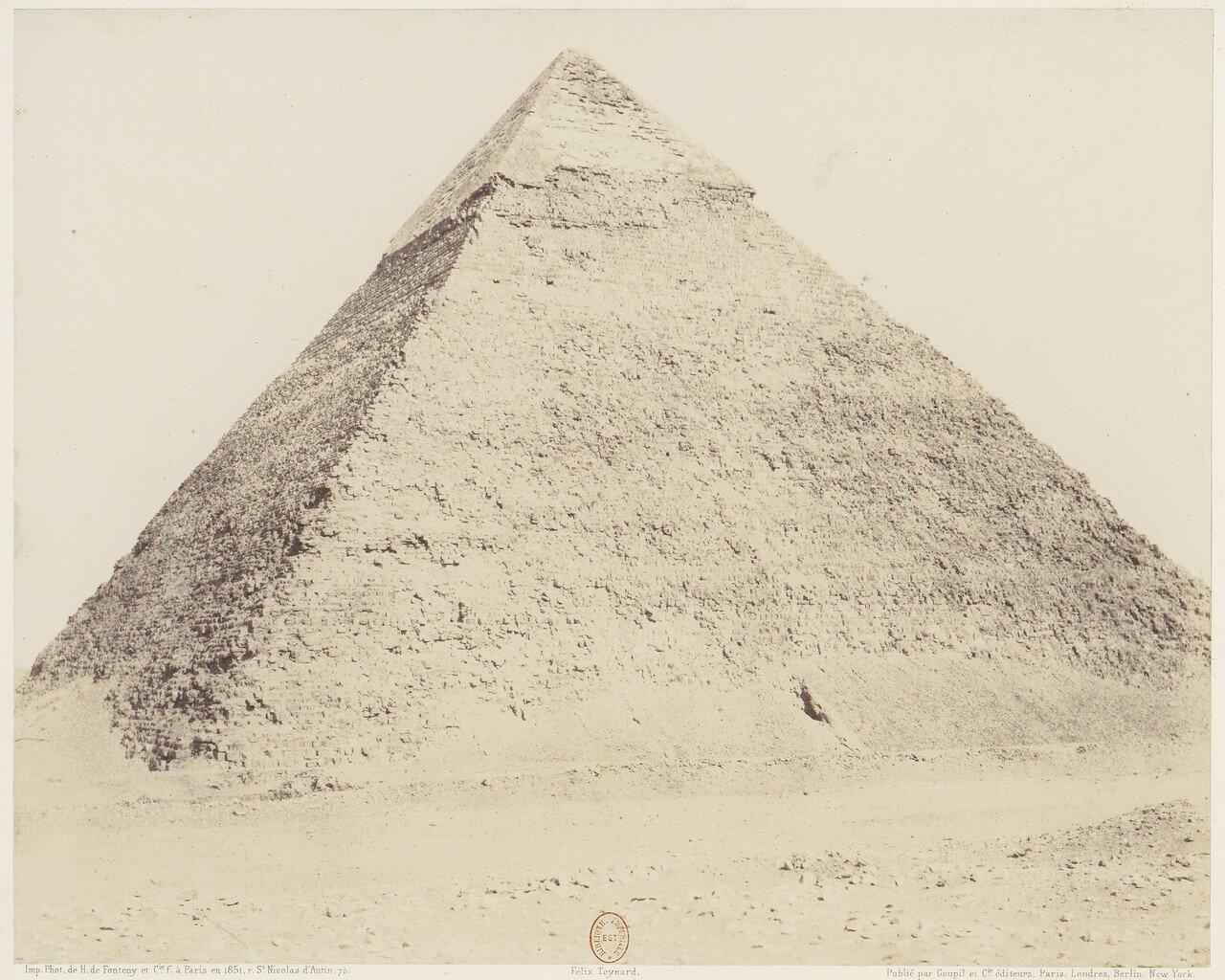 Гиза. Пирамида Хефрена