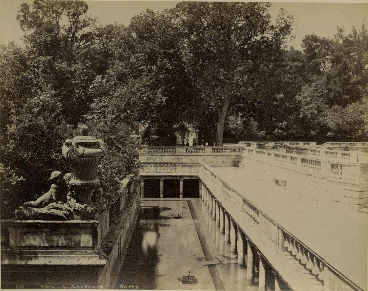 Римские бани. 1870-е