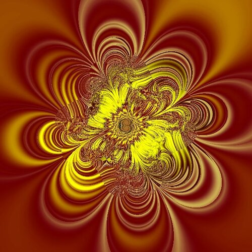 Создание шелкового цветка