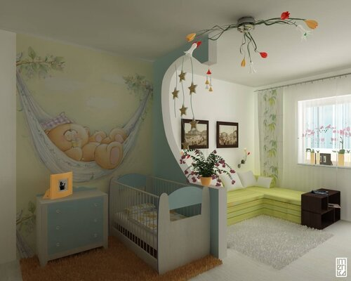 дизайн детской комнаты (40)