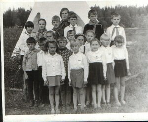 """пионер лагерь """"Чайка"""" год приблизительно 1973 (добавлено Navigator)"""