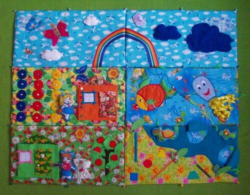 Развивающий коврик для детей...