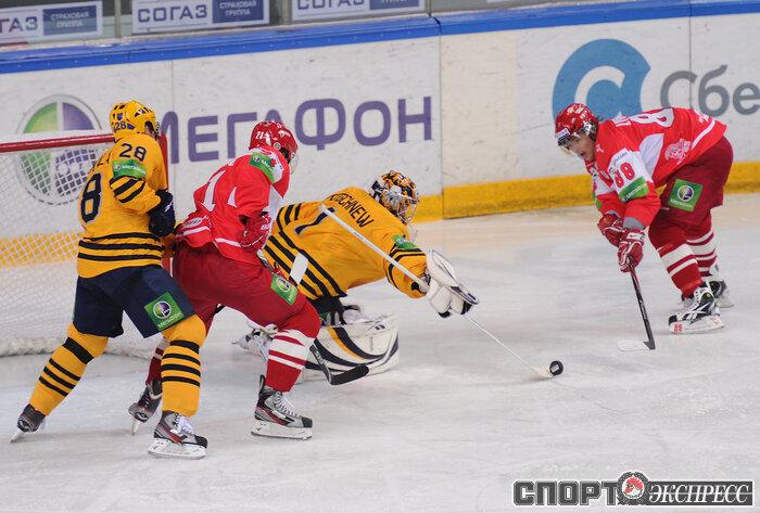 Превью: СПАРТАК vs АТЛАНТ чемпионат КХЛ 2012-2013 (Видео)