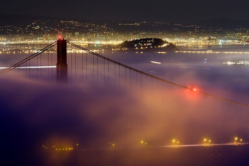 Красивые фотографии тумана в Сан Франциско, США 0 142275 61cfa7f0 orig