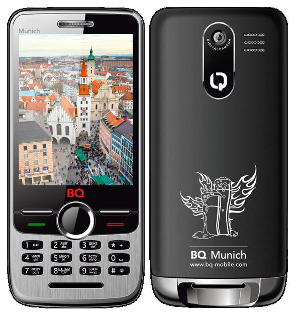 BQM-2803 MUNICH— первый вмире телефон соткрывалкой для бутылок