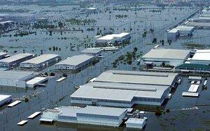 Из-за наводнения под водой оказалось две трети Таиланда