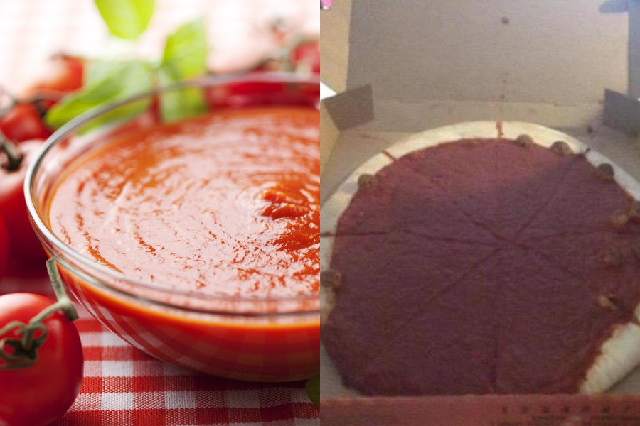 Отвратительный вид фастфуда и других блюд, который отличается от обещанного в рекламе