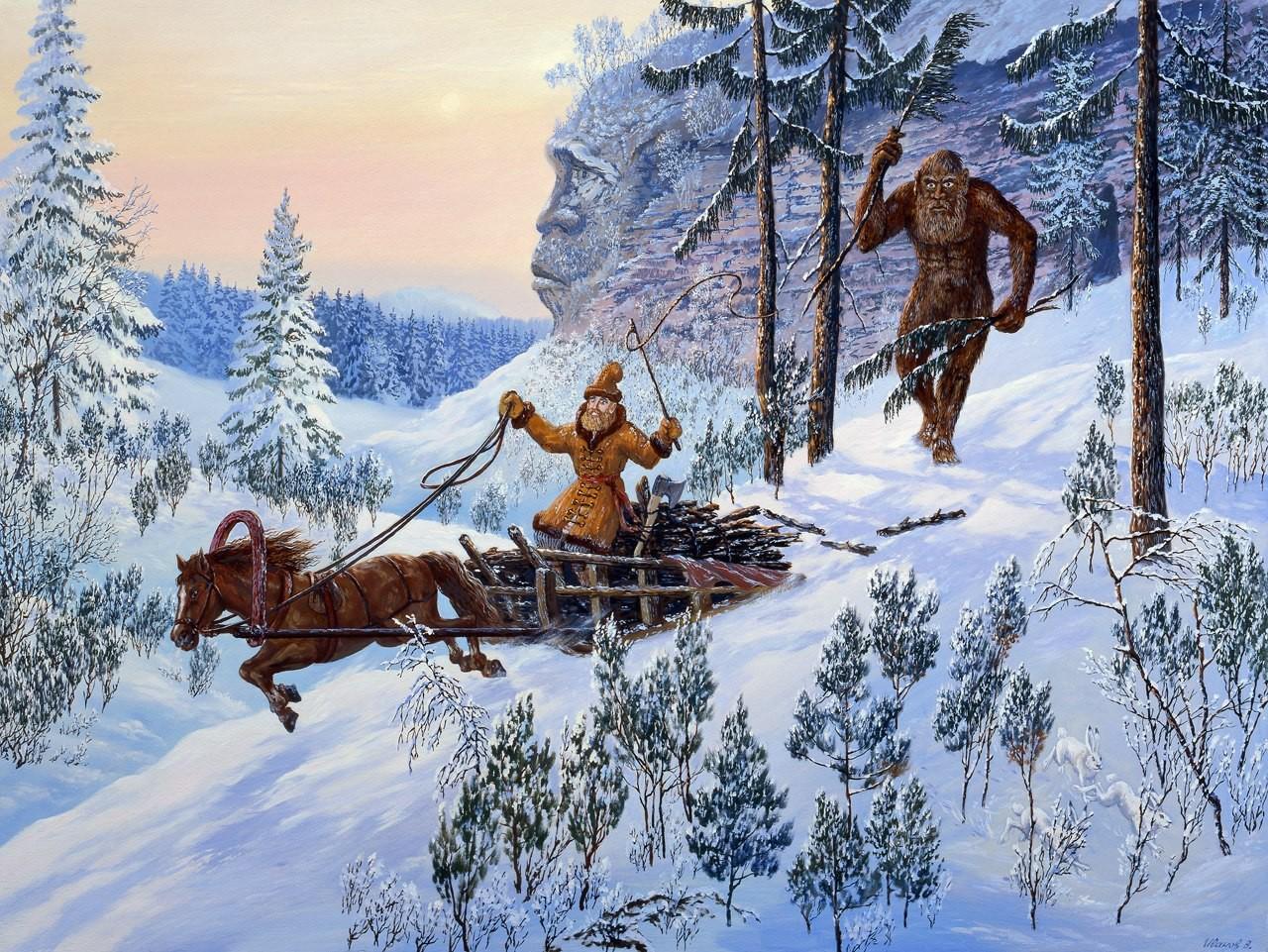 Волоты — малочисленная раса могучих великанов, населявшая территорию древней Руси. Некогда волоты бы