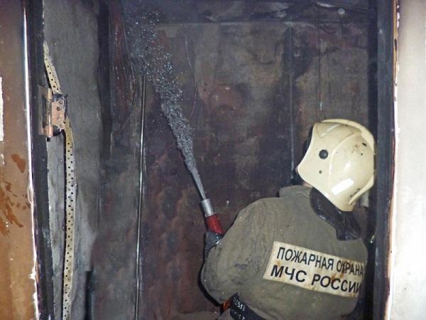 Пожар в ЦУМе, 27 апреля
