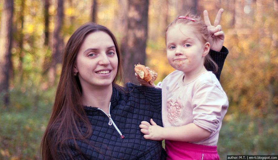 Мать и дочь. Фото. Портрет.