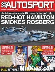 Журнал Autosport UK - 16 October 2014