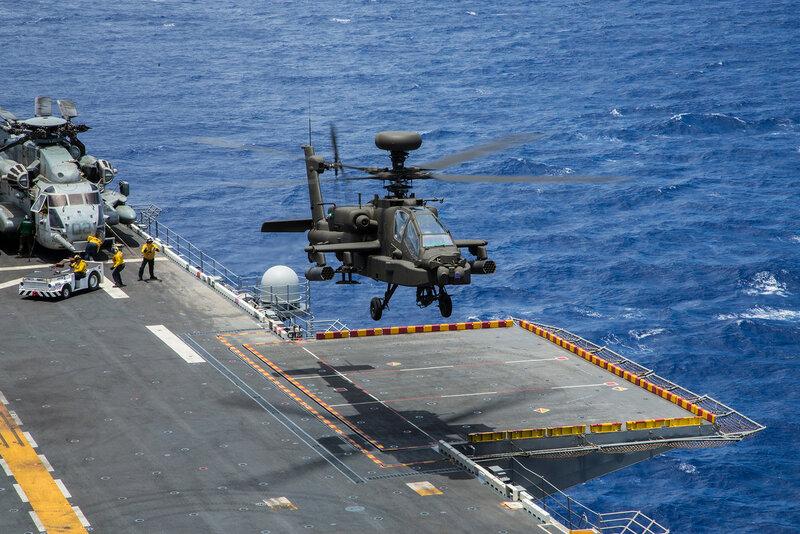 AH-64E Guardian_25th AviationReg., 25th CombatAviation Brig._LHA 5 Peleliu_PAC_20140719_2RIMPAC 2014