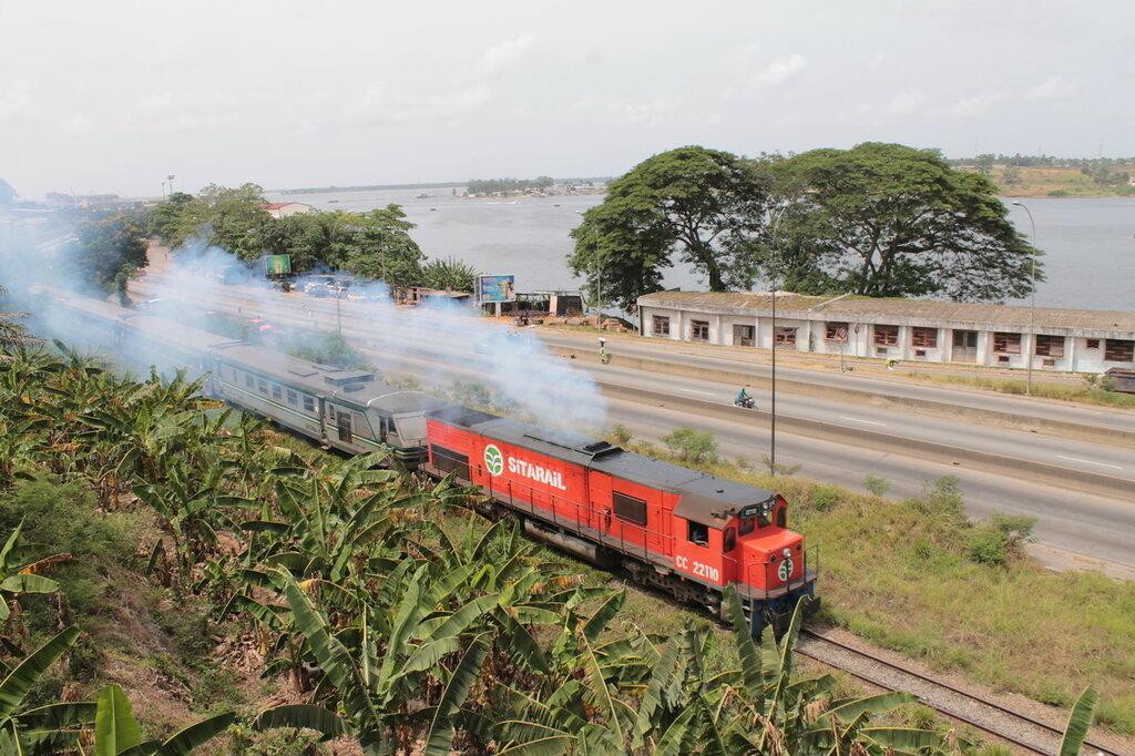 Международный поезд