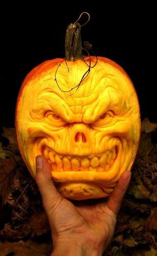Праздник Halloween и тыквы
