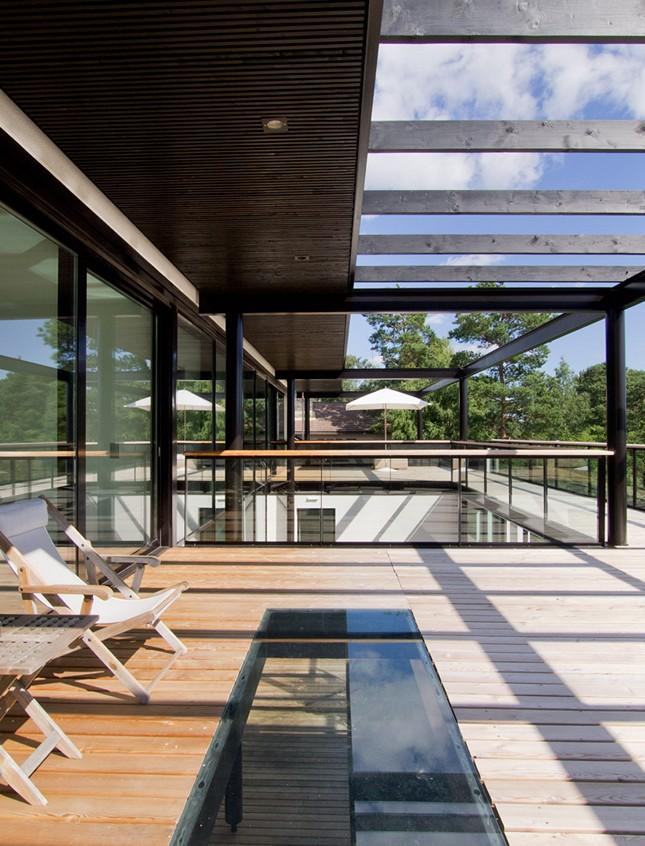 Villa Snow White от Helin & Co Architects в Эспоо, Финляндия