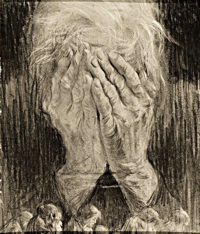 Николай Жуков Горе матери (Будь проклят фашизм!) 1943 г.