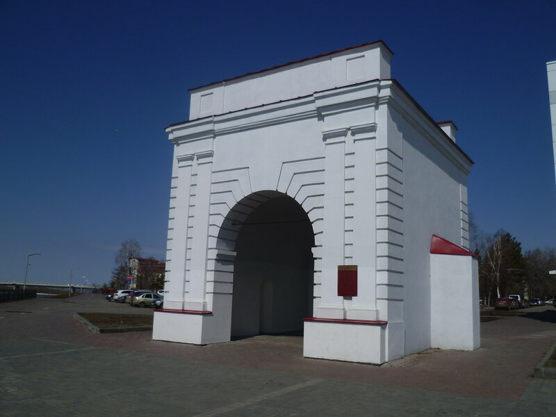 Омск, Иртышские ворота (Omsk, Irtysh gate)