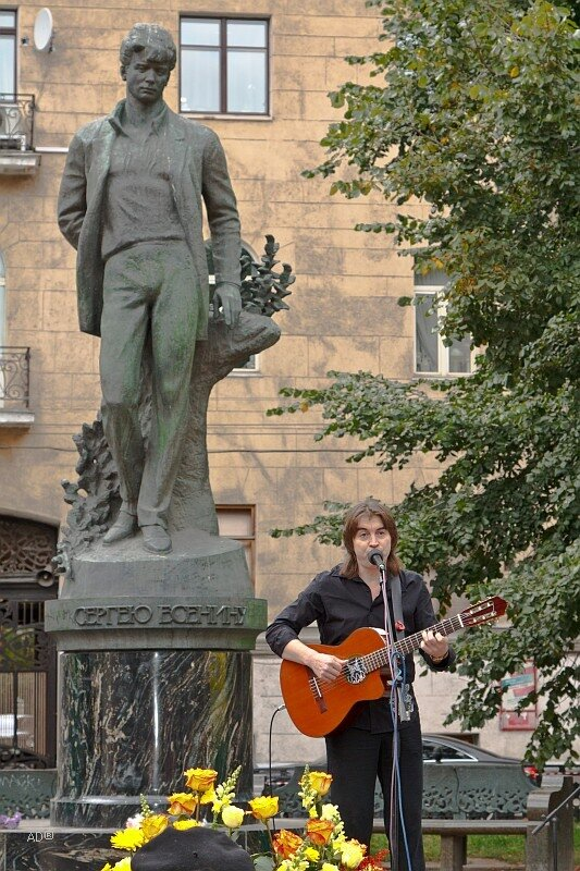 Концерт на Тверском бульваре на День города 2011