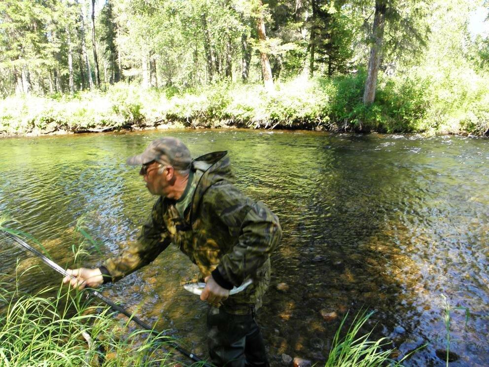 отчет рыбалка на байкале