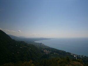 Вид на монастырь с Иверской горы