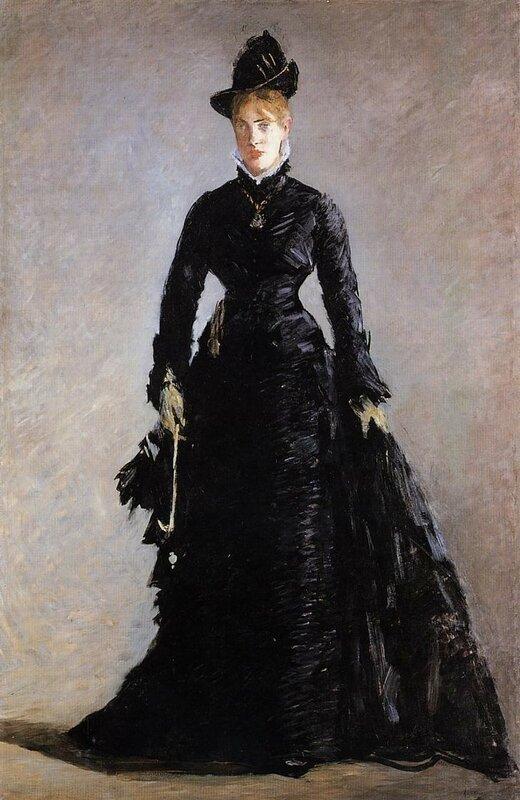 Эдвард Мане, Этюд парижанки Эллен Андре, 1874