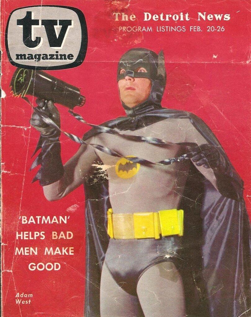 batman tv guide cover