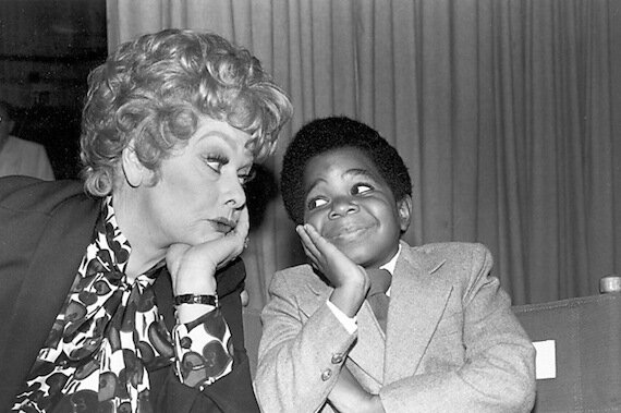 Lucille Ball and Gary Coleman, 1979