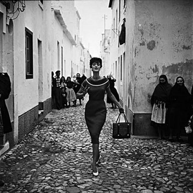 Время элегантности.Фотограф Georges Dambier