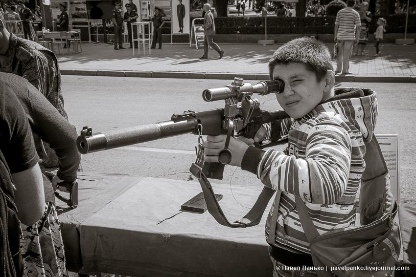 Выставка военной техники и оружия