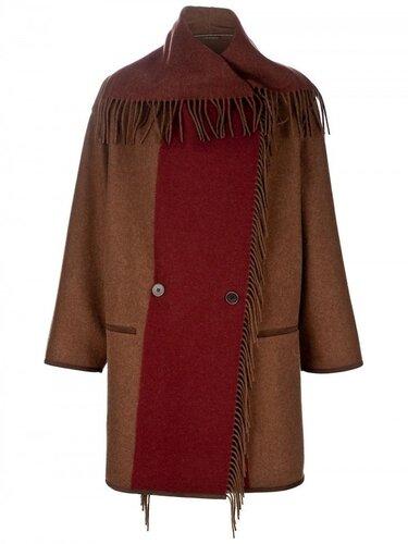 Etro Fringe Blanket Jacket $1638